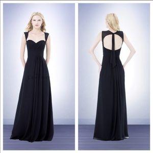 Bill Levkoff   Black Bridesmaid Dress 485